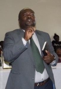 Pastor Raphael teaching God's Word