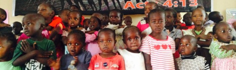 Reason for Praise - Unreached children be reached with the Gospel of Jesus Christ in Nairobi, Kenya