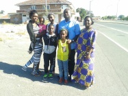 Pastor Raphael and family